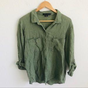 Sanctuary Boyfriend Shirt button down